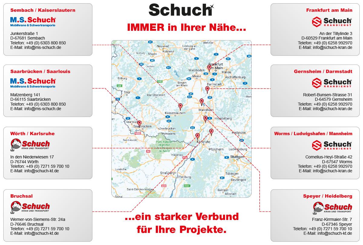 Standortkarte-Schuch-Kran-Transport